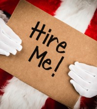 Holiday hiring looks to be a little flat this year