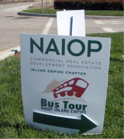 NAIOP Bus Tour Draws Strong Crowd